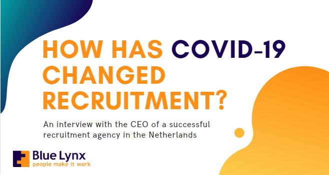 How did corona affected recruitment